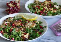Karamelize Karnabahar Salatası Tarifi