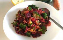 Arpa Şehriyeli Kış Salatası Tarifi