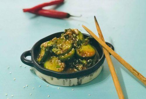 Baharatlı Kore Salatalık Salatası Tarifi