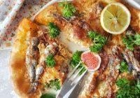 İncirli ve Sardalyalı Pizza Tarifi