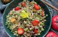 Kısır Tadında Kinoa Salatası Tarifimiz