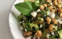 Çıtır Nohut Salatası Tarifi