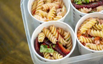 Pancarve Enginarlı Makarna Salatası Diyet Tarifi