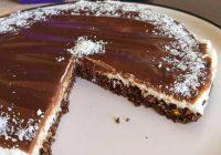 Fit Hindistan Cevizli Pasta Diyet Tarifi