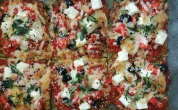 Hamursuz Akdeniz Pizzası Tarifi