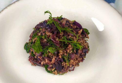 İnce Bulgurlu Lahana Salatası Tarifi
