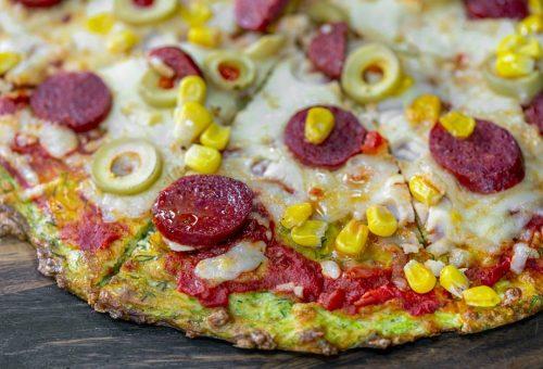 Kabak Pizza Diyet Tarifi
