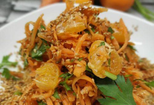 Mandalinalı Havuç Salatası