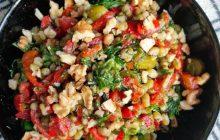 Maş Fasulyeli Salata Tarifi