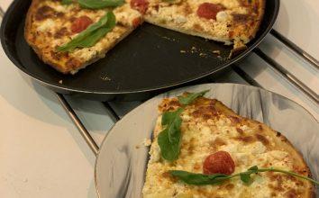 Evde Peynirli Pizza Tarifi