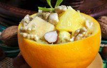 Portakal Çanağında Meyve Salatası Tarifi