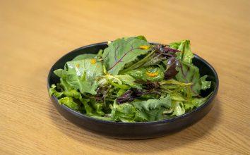 Portakal Soslu Yeşil Salata Diyet Tarifi