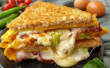 Sandviç Omlet Tarifi