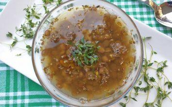 Soğuk Mercimek Çorbası Tarifi