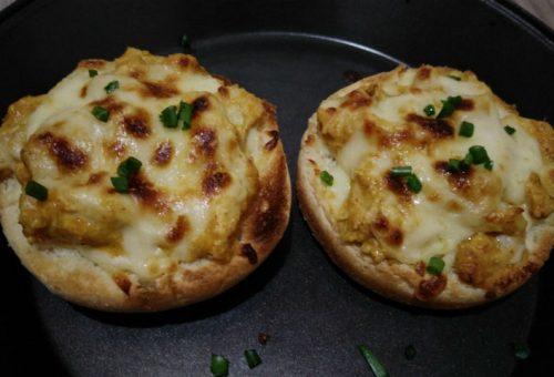 Tavuklu Mini Pizza Tarifi