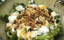Yoğurtlu Cevizli Brokoli Salatası Tarifi